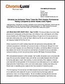 ChomaLux Press Release